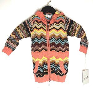 missoni target toddler girls hooded tunic sweater